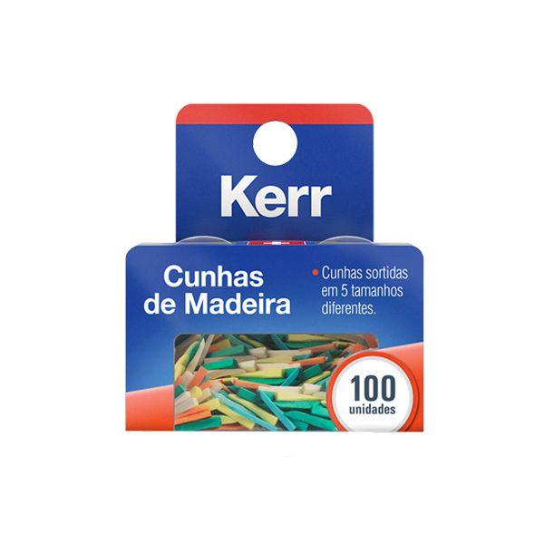 Cunhas de Madeira Sortidas - Kerr