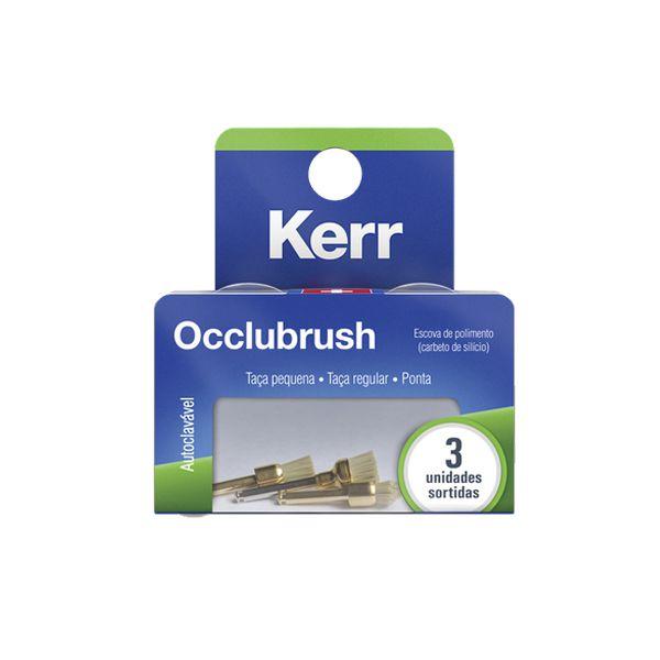 Escova de polimento em Carbeto de Silício Occlubrush - Kerr