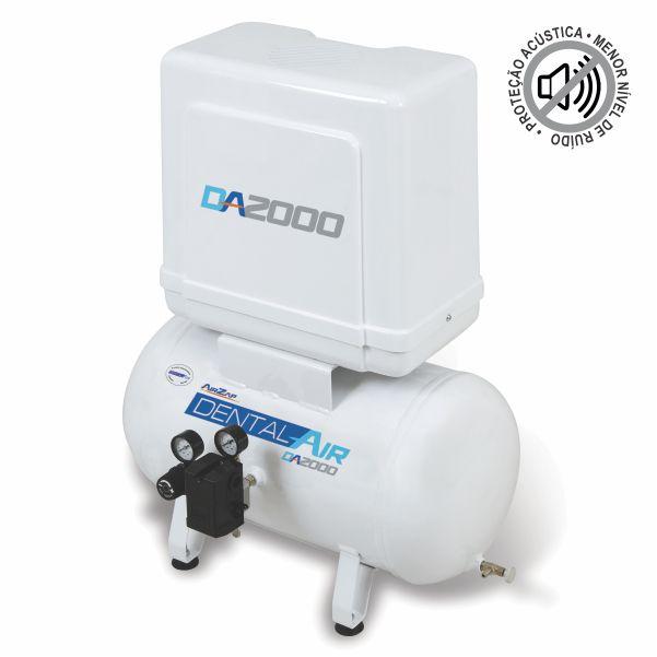 Compressor Odontológico DA2000 40VFP 220V - Airzap