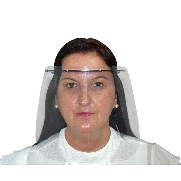 Máscara protetora facial Face Shield - Agir