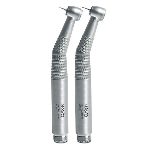 Kit com 2 canetas de Alta Rotação Extra Torque 605 C push button - KaVo