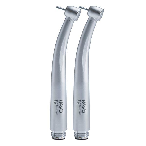 Kit com 2 canetas de Alta Rotação Extra Torque 505 saca brocas - KaVo
