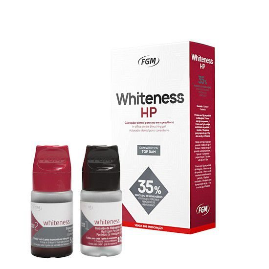 Clareador Whiteness HP 3 pacientes - FGM