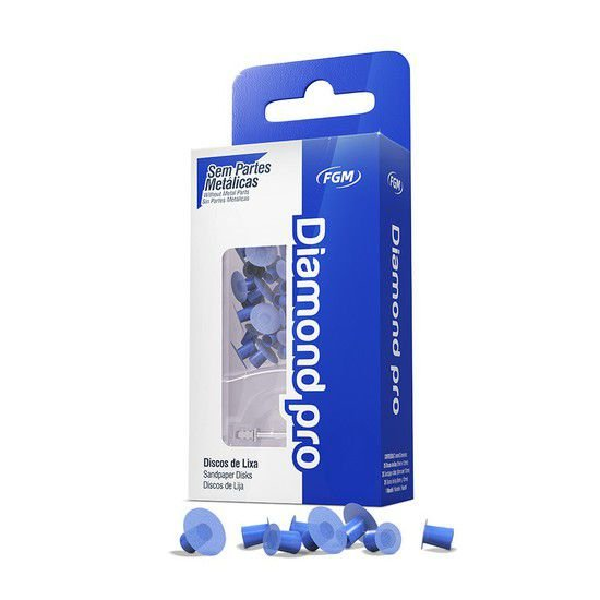 Disco de Lixa Diamond Pro Refill - FGM