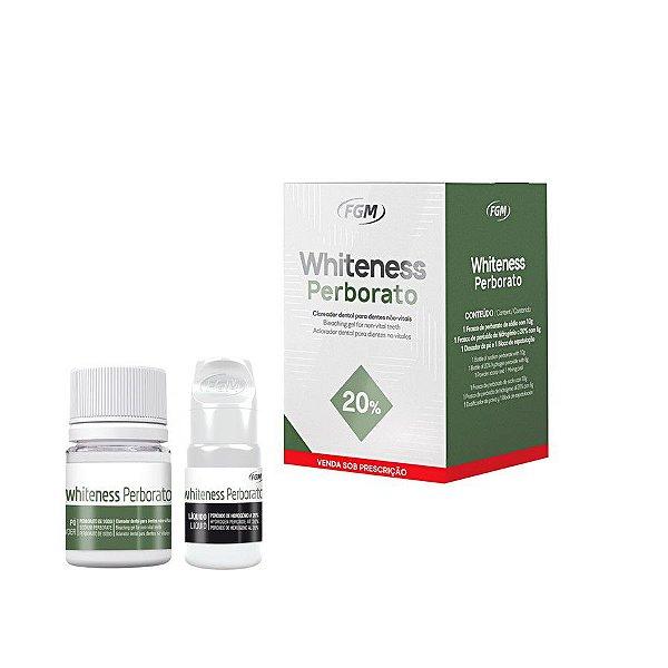 Clareador Whiteness Perborato - FGM