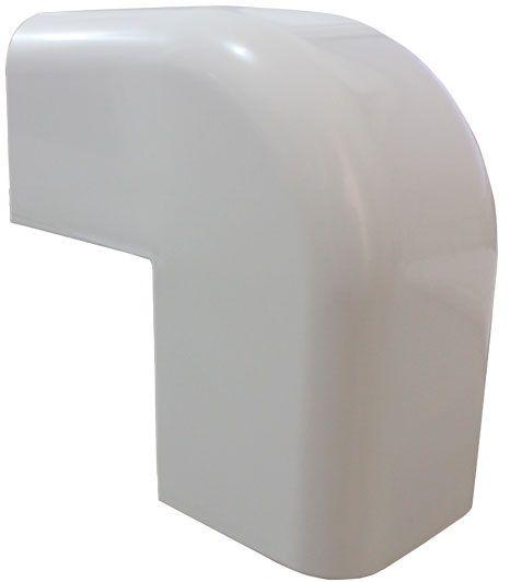 Curva Ângulo Externo para Canaleta de Ar Condicionado - até 18.000 BTUs