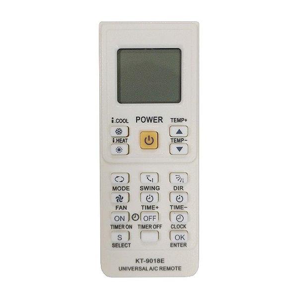 Controle Remoto Universal para Ar Condicionado KT-9018E