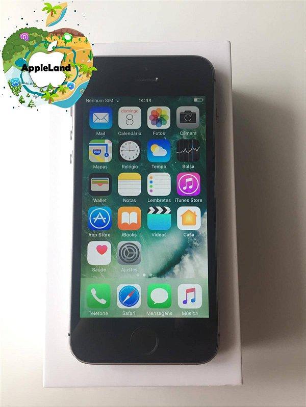 Iphone Se 16gb Cinza Espacial A1723