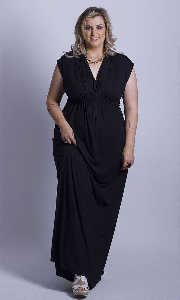 Vestido Longo Estampado - 9187
