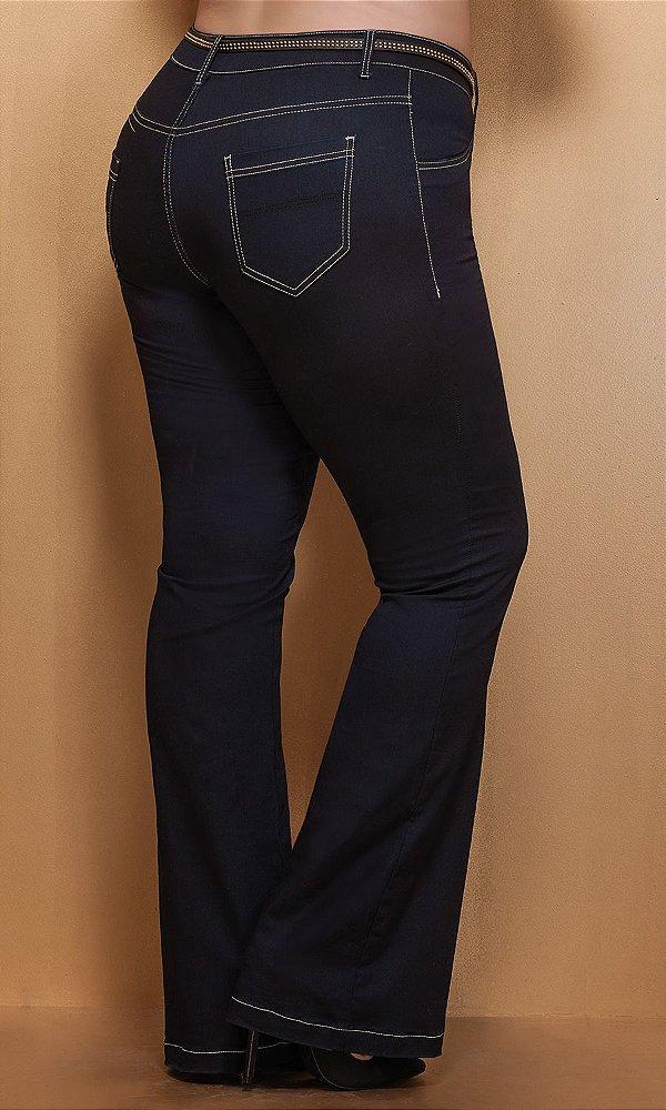 Calça Jeans Flare Slim   17557