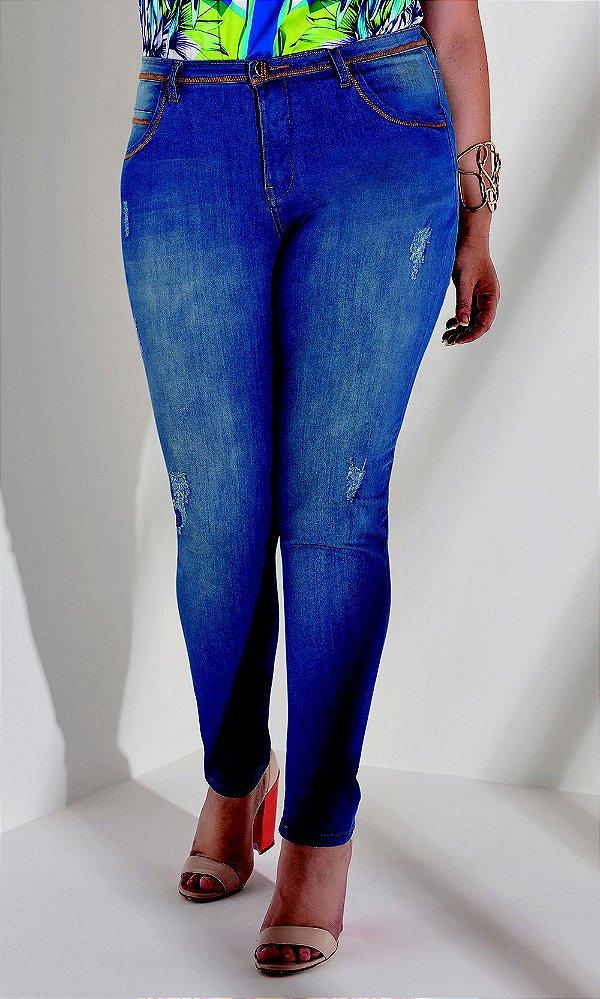 Calça Jeans Skinny Blue   17690
