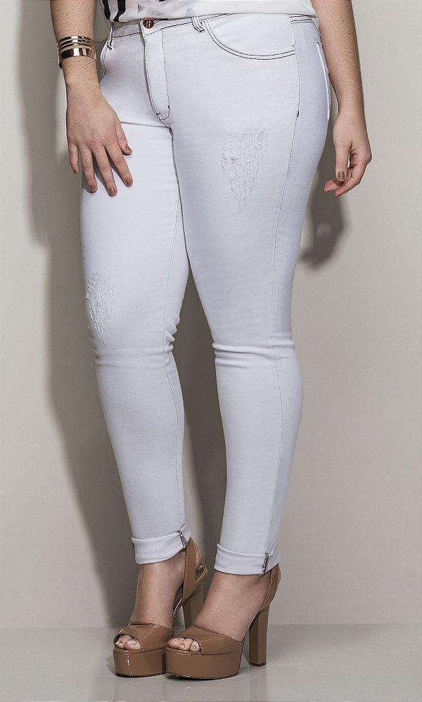 Calça Jeans Skinny Color   17752