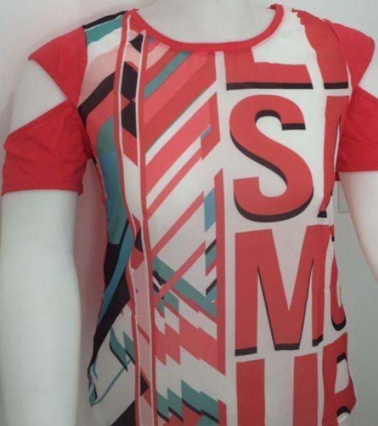 Blusa com Estampa Sublimada    20620