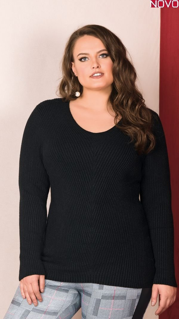 Suéter em Tricot Lisamour   20646