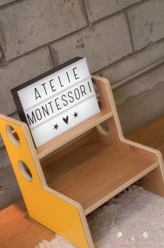 Escadinha Auxiliar Montessori