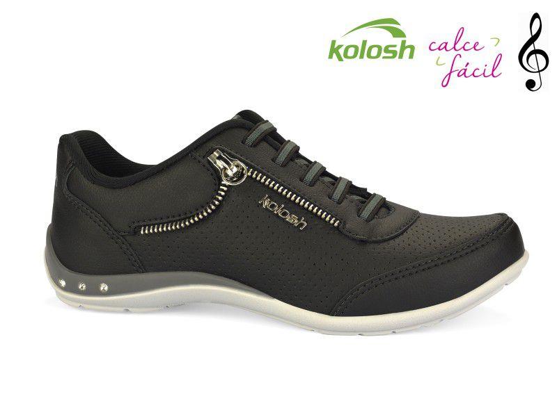 Tenis Casual Kolosh Calce Facil