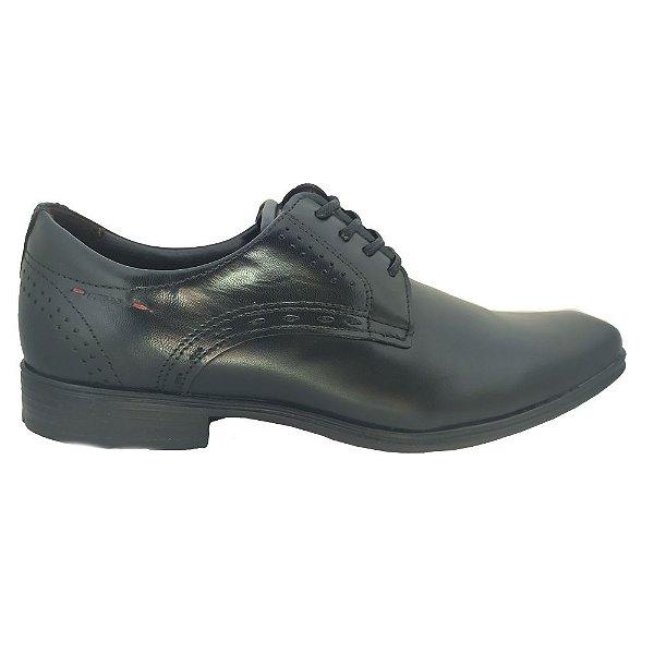 Sapato Social Pegada Derby Em Couro Cadarco