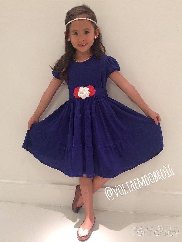Vestido Flora Infantil