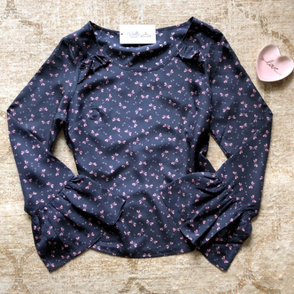 Blusa ML Mini Libelulas