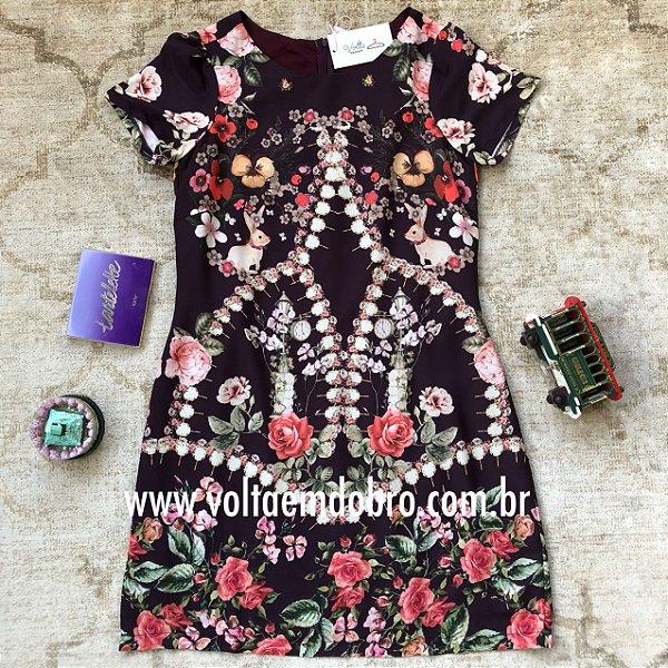 Vestido Pepita Rose