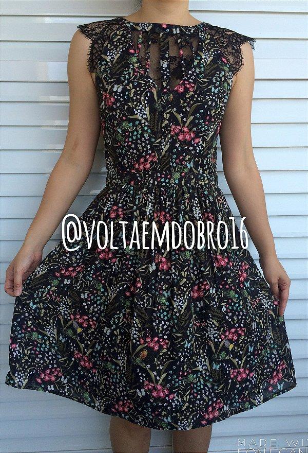 Vestido Floresta Floral
