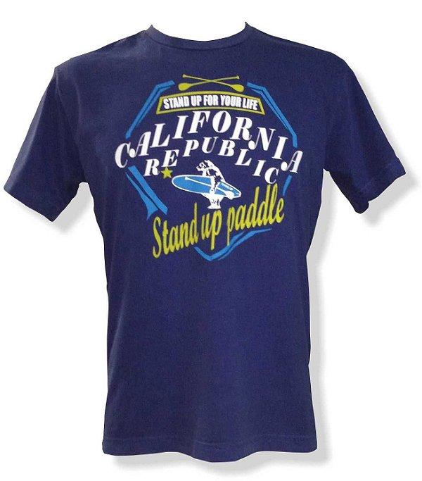 Camiseta Estonada Stand up paddle - Azul