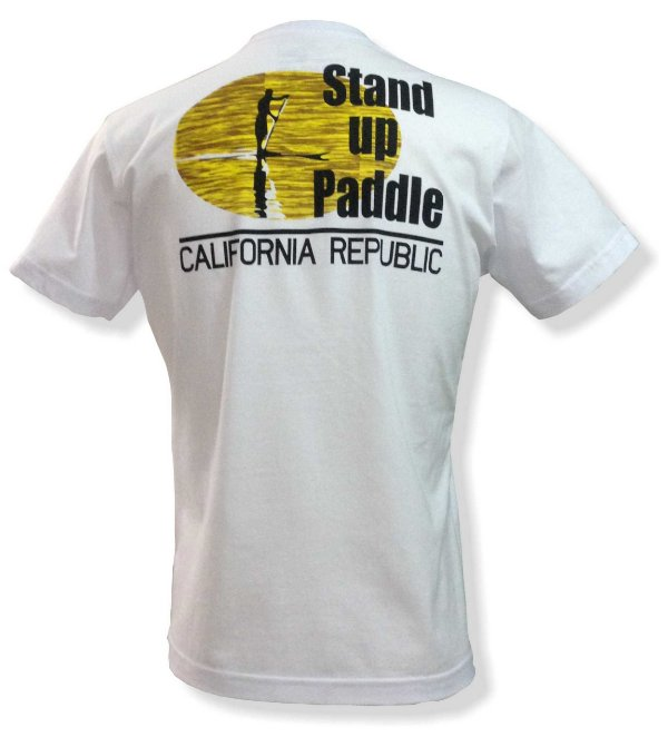 Camiseta Stand up paddle - Branca