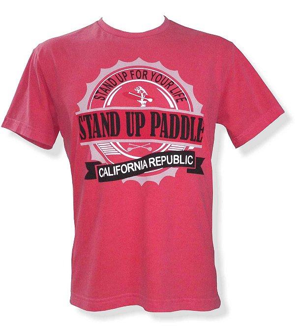 Camiseta Estonada - Vermelha