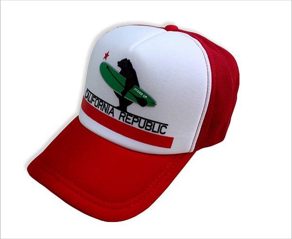 Boné California Republic - Vermelho