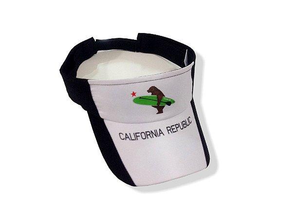 Viseira California Republic - PRETA