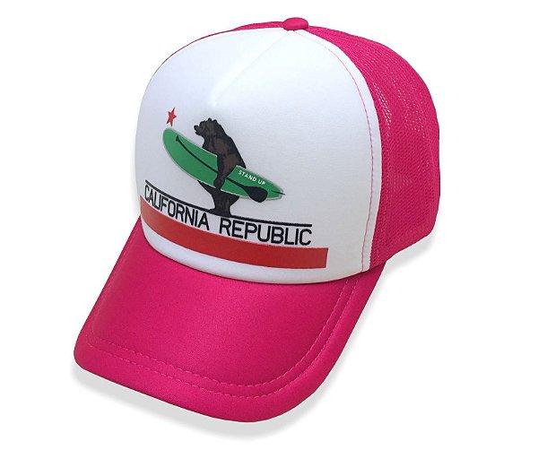 Boné California Republic - Rosa Pink - California Republic SUP 22def69fe9b