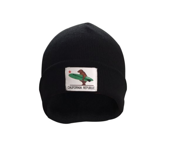 Gorro California Republic - Preto