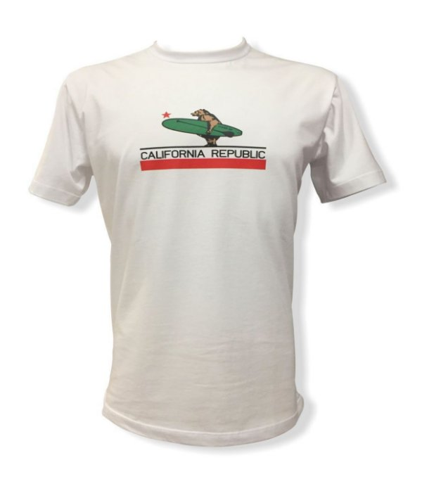 Camiseta California Republic - Branca