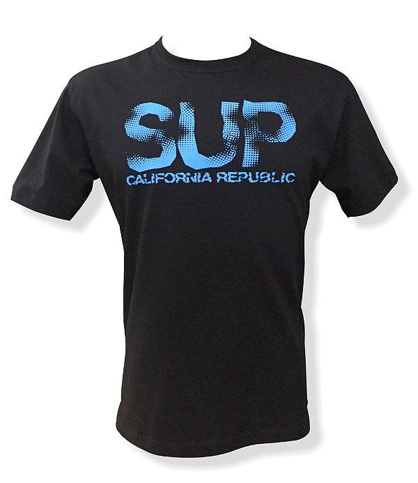 Camiseta SUP California Republic (preta)