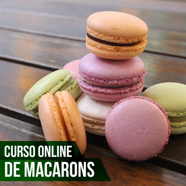 Curso On-line de Macarons