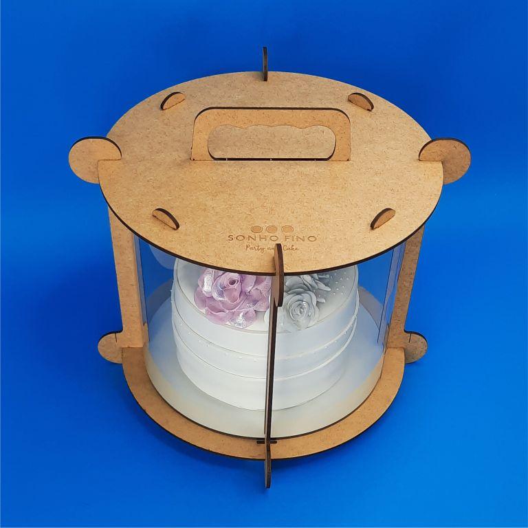 CAIXA PARA BOLO CAKE BOX 18 CM