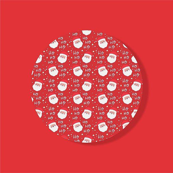 Cake Board Estampado Redondo - Stickers Natal Nº3