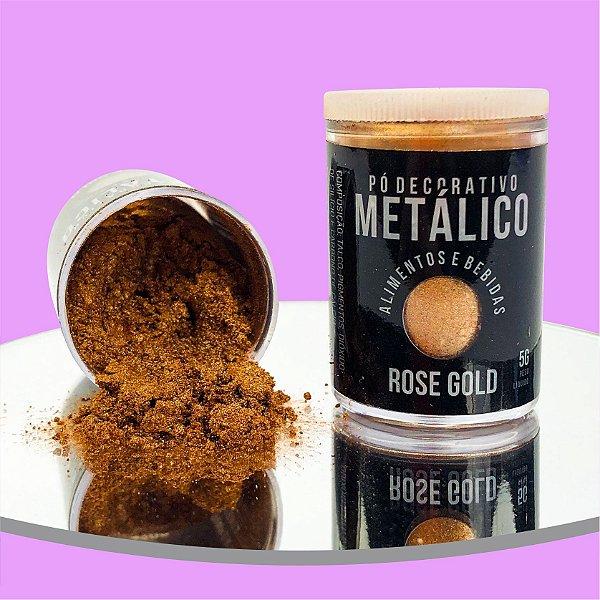 Pó Metálico Rose Gold 5g
