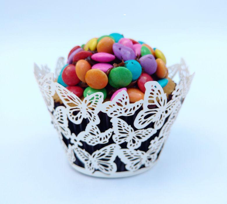 Saia Para Cupcake Borboleta