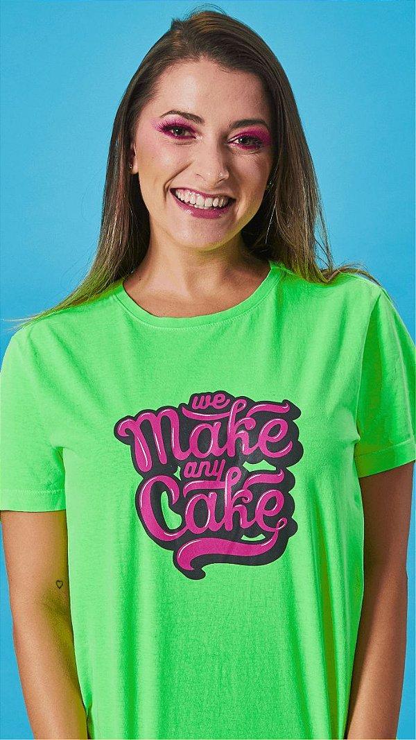 Camiseta Feminina We Make Verde