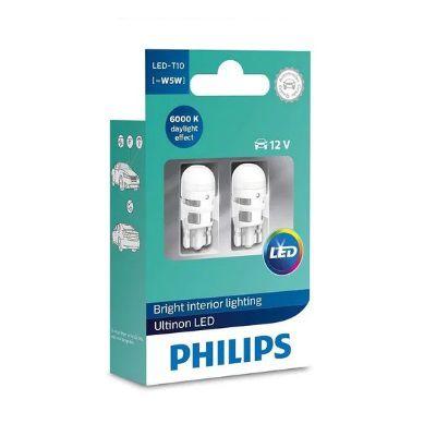PAR T10 LED ULTINON W5W 6K 12V - PHILIPS