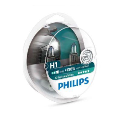 PAR LAMPADA H1 XTREME VISION PLUS - PHILIPS