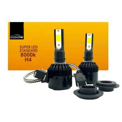 KIT SUPER LED STANDARD H4 7800LM 8K COB CODE