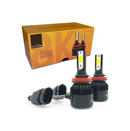KIT SUPER LED STANDARD H8 H11 7800LM 8K COB CODE