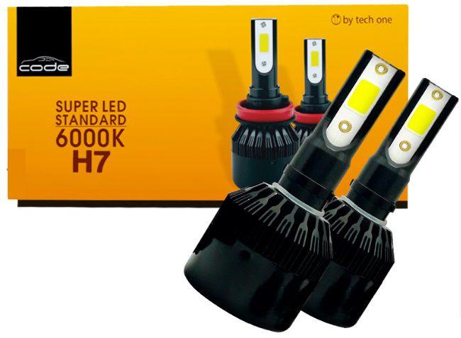 KIT SUPER LED STANDARD H7 7800LM 8K COB CODE