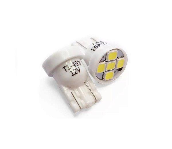 LAMPADA T10 5 LED 6K 12V TECH ONE