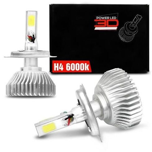 KIT POWER LED 3D H4 6K SHOCKLIGHT