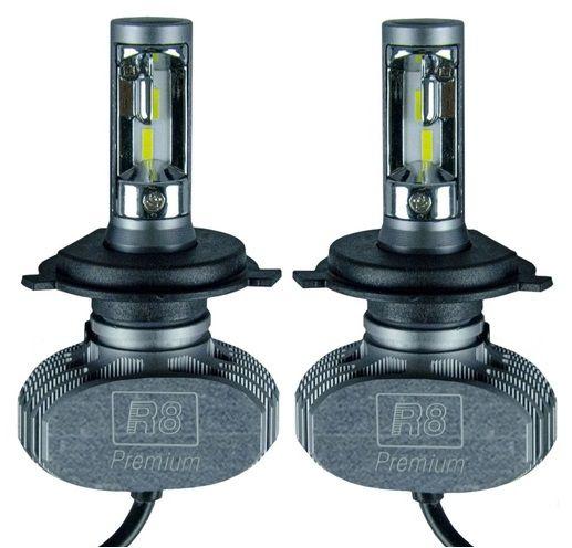 KIT ULTRA LED PREMIUM H4 8000LM 6K CSP JR8
