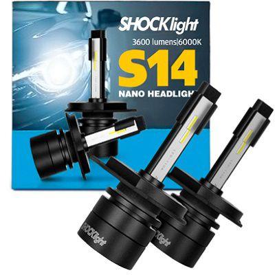 KIT NANO LED H4 7200LM 6K S14 SHOCKLIGHT