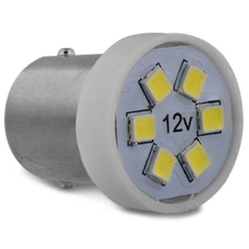 LAMPADA 1 POLO 6 LEDS 67 BRANCO 12V AUTOPOLI